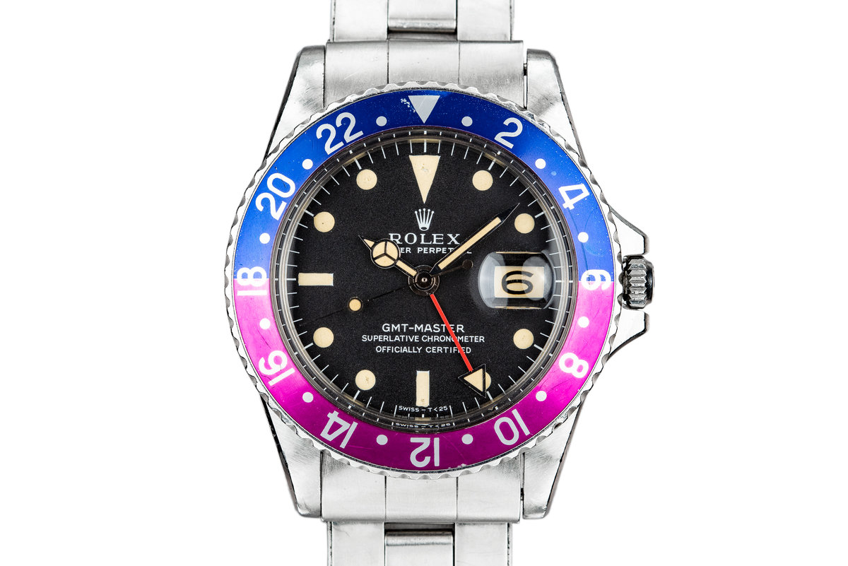 1967 Rolex GMT-Master 1675 MK I Dial with Fuchsia Bezel photo, #0