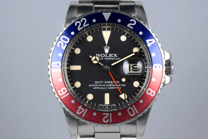 1975 Rolex GMT 1675 photo