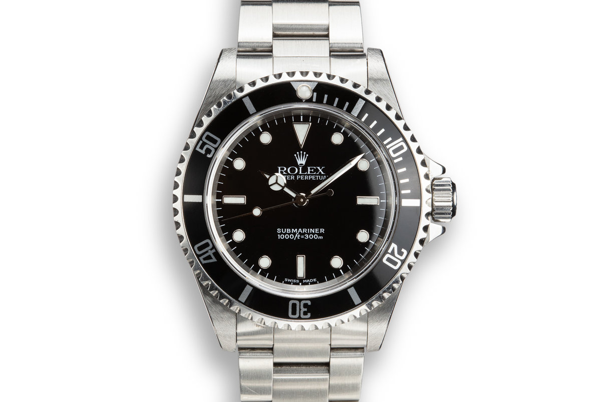 2000 Rolex Submariner 14060 photo, #0