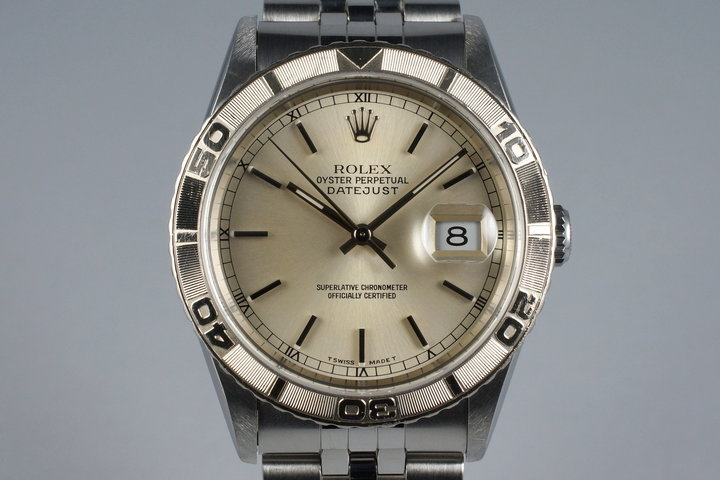 1997 Rolex DateJust 16264 Thunderbird with Box and Papers photo