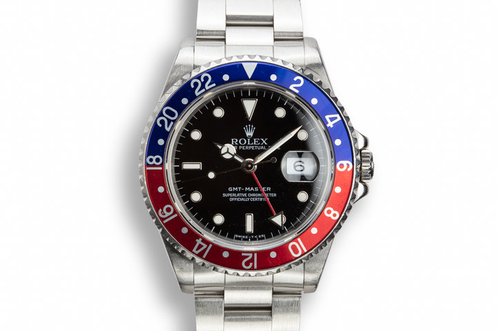 "1990 Rolex GMT-Master 16700 ""Pepsi"" with Papers photo"