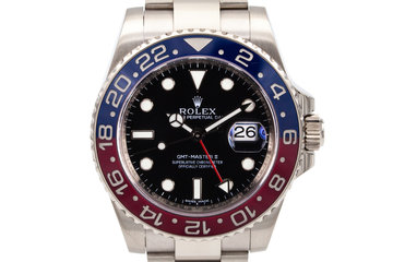 2015 Rolex WG GMT-Master II with Box and Papers photo
