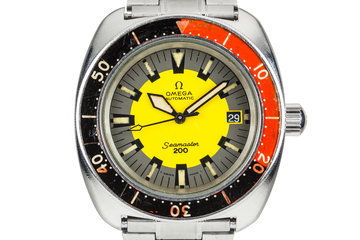 "Omega Seamaster 200 ""Banana"" 166.002 photo"