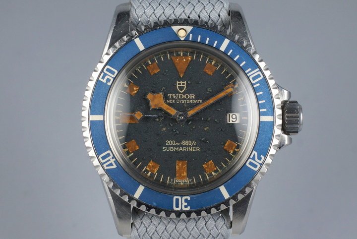 1972 Tudor Blue Submariner 9411/0 Snowflake photo