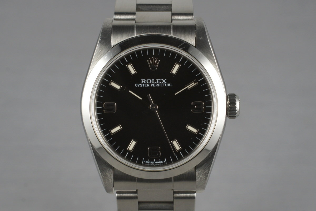 1997 Rolex Oyster Perpetual Mid Size 67480 with Box and Papers photo, #0
