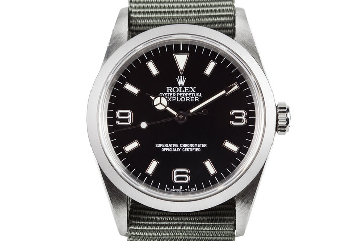 1995 Rolex Explorer 14270 with Tritium Dial photo