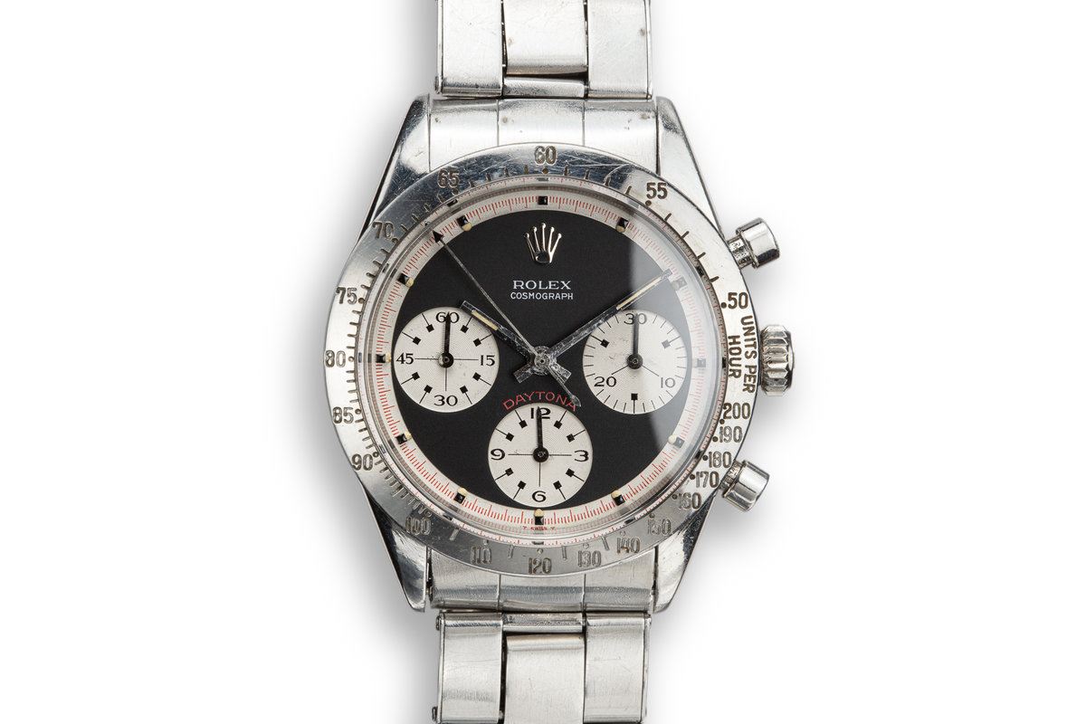 "1969 Rolex ""Paul Newman"" Daytona 6239 with ""Barbara"" Aviation Documents and Photographs photo, #0"