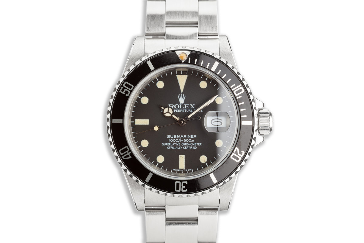 1981 Rolex Submariner 16800 photo, #0