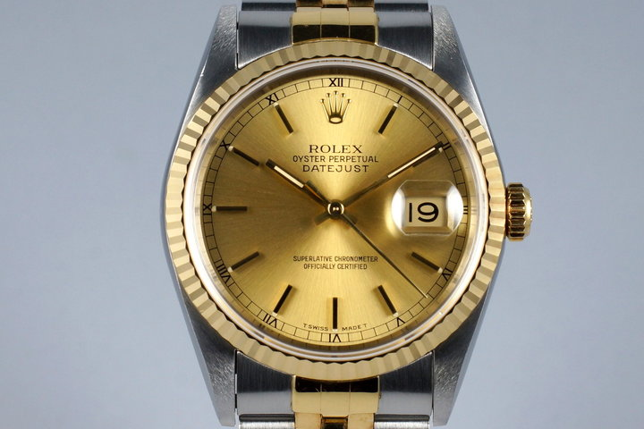 1991 Rolex Two Tone DateJust 16233 photo