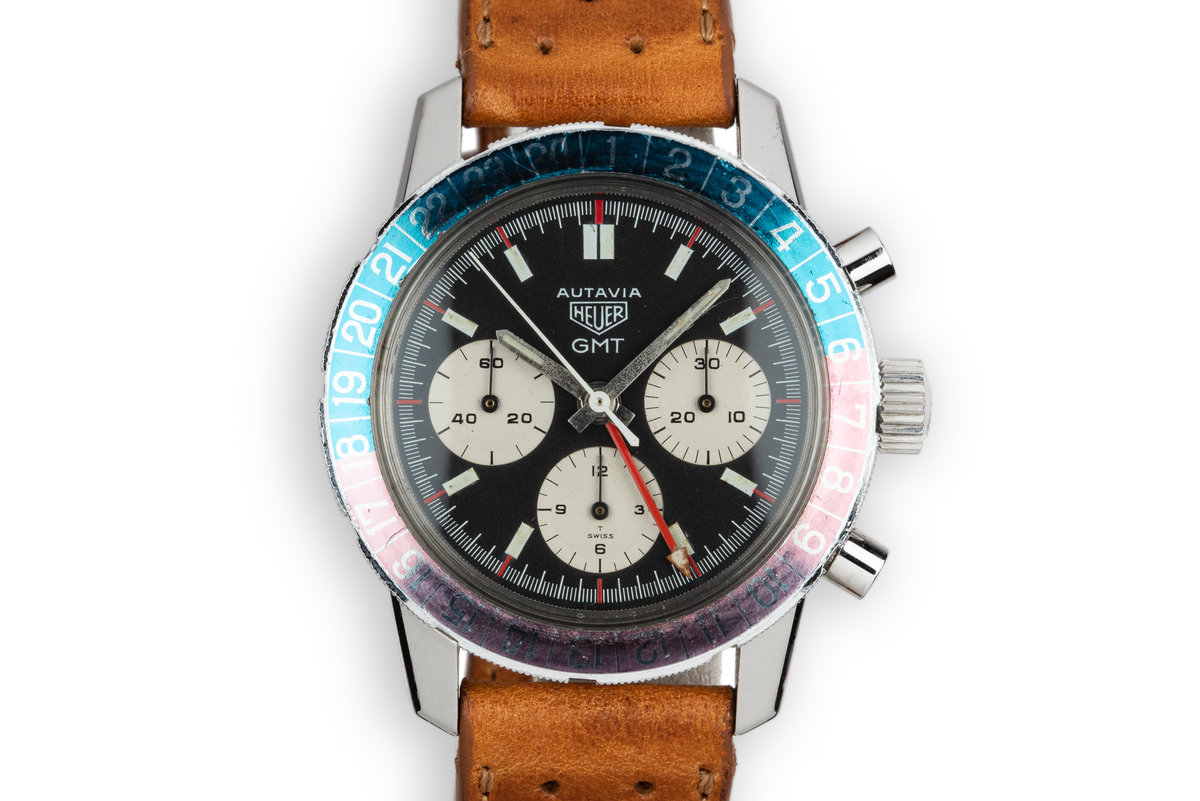 Heuer Autavia GMT Chronograph 2446C photo, #0