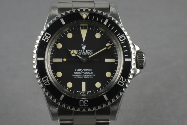 1966 Rolex Submariner 5512 photo
