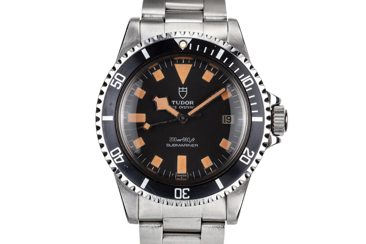1980 Tudor Snowflake Submariner 9411/0 Black Dial photo, #0