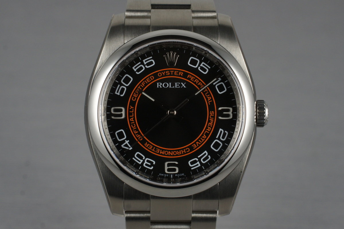 2007 Rolex Oyster Perpetual 116000 with Box and Papers photo, #0