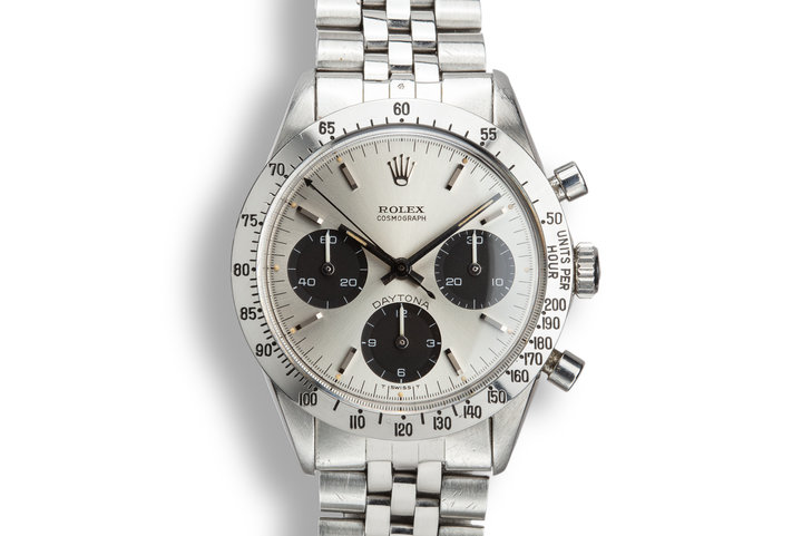 1969 Rolex Daytona 6239 Silver Dial photo
