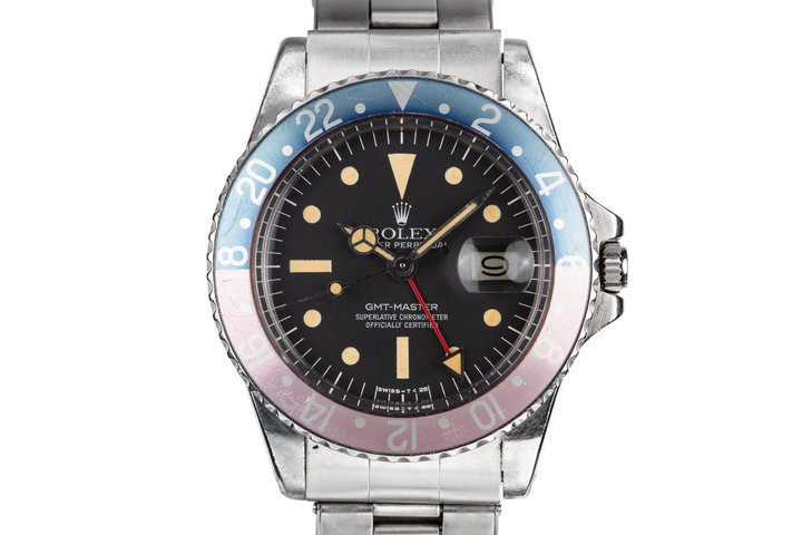 1974 Rolex GMT-Master 1675 with Radial Dial photo