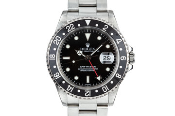 1999 Rolex GMT-Master 16700 SWISS Only with Box and Papers photo