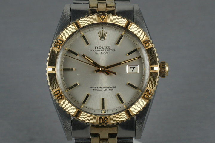 Rolex 2 Tone Datejust Ref: 1625  Thunderbird photo