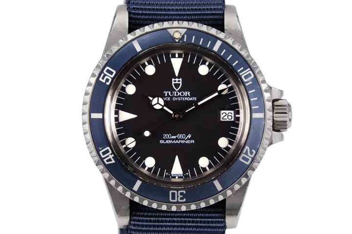 1990 Tudor Submariner 79090 Black Dial photo
