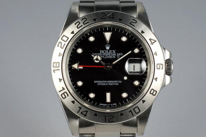 1995 Rolex Explorer II 16570 Black Dial photo