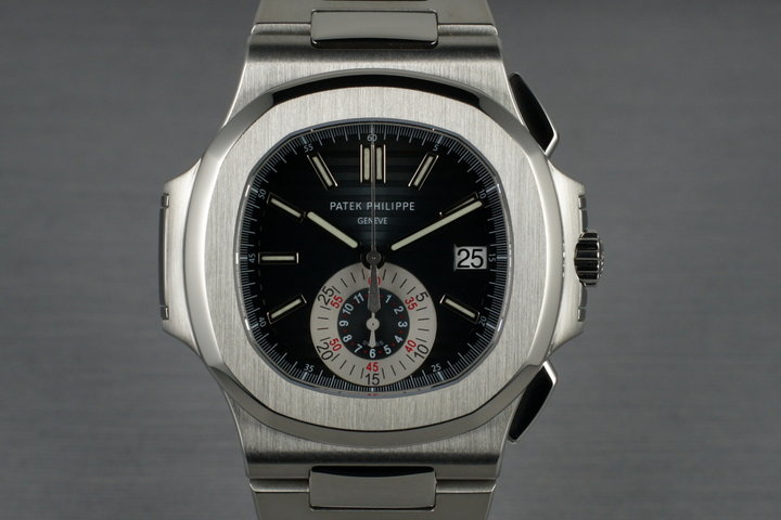 Patek Philippe 5980 retailed at Tiffany and Co. photo