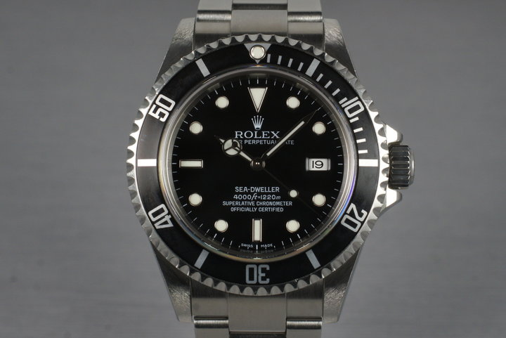 2006 Rolex Sea Dweller 16600 photo