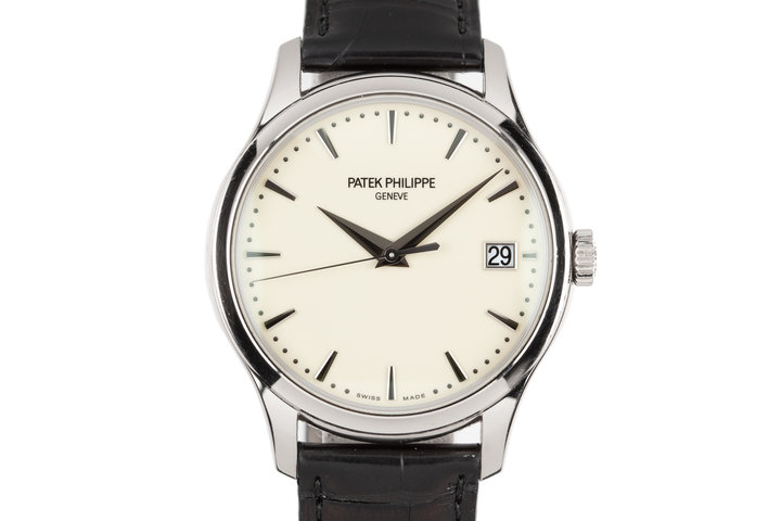 2017 Patek Philippe 18K WG Calatrava 5227G-001with Box and Papers photo