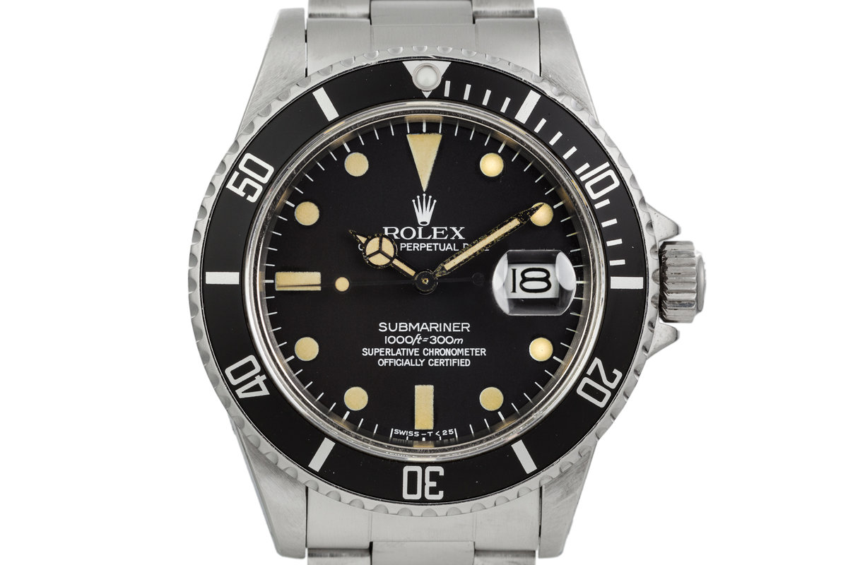1981 Rolex Submariner 16800 with Matte Dial photo, #0