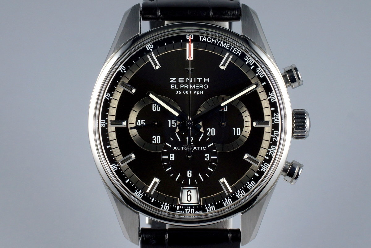 2015 Zenith El Primero 36,000 VPH 03.2040.400 with Box and Papers photo, #0