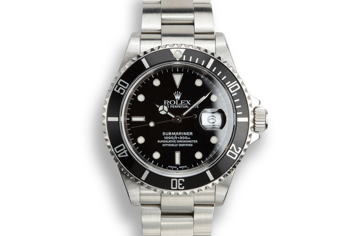 2000 Rolex Submariner 16610 photo