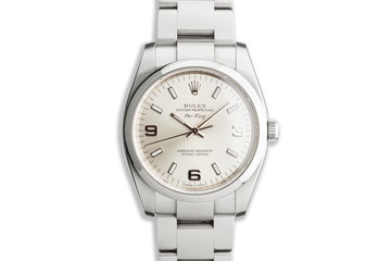 Oyster Perpetual 114200 Silver Dial photo