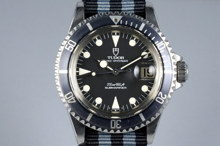 1985 Tudor Submariner 76100 Non-Mercedes Hand photo