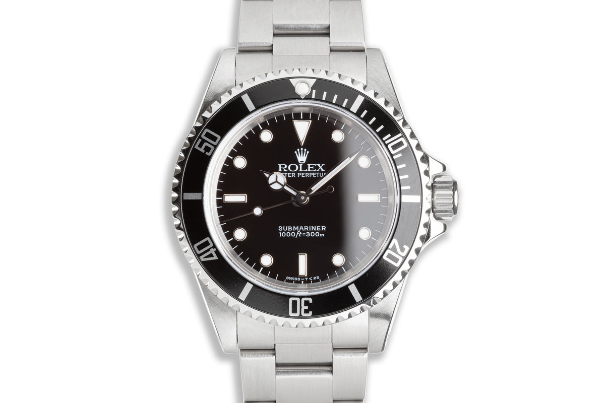 1997 Rolex Submariner 14060 with Service Card photo, #0