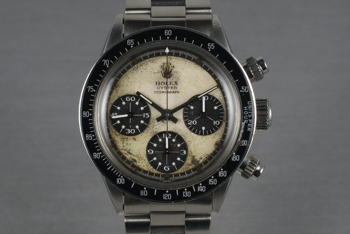1970 Rolex Daytona 6263 Paul Newman with Box and Papers photo