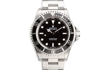 2006 Rolex 14060M Submariner photo