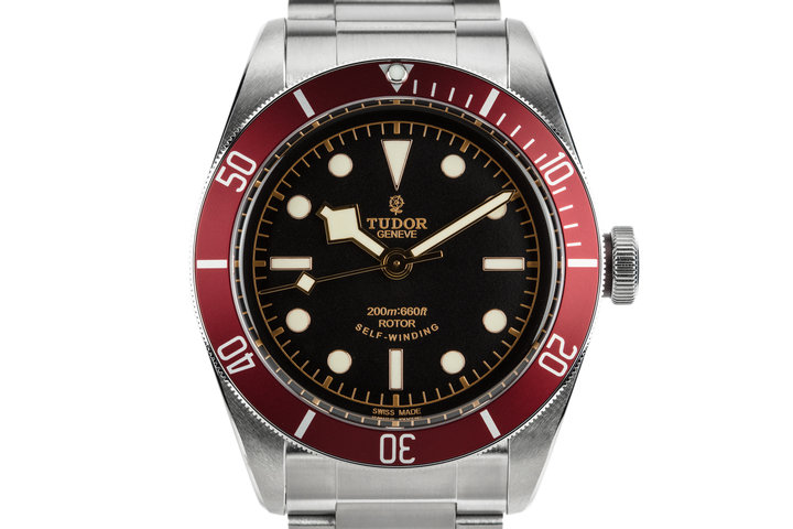 2017 Tudor Black Bay 79220R with Red Bezel Insert and Box and Papers photo