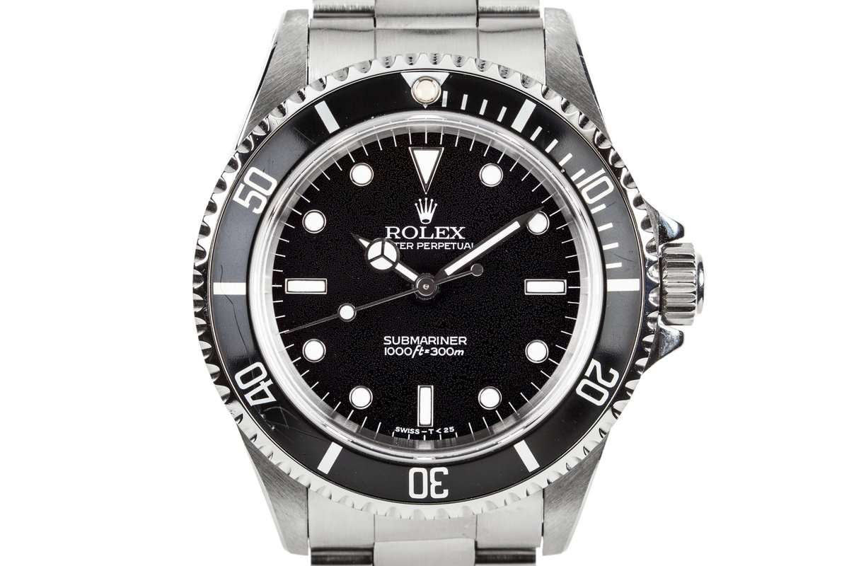 1995 Rolex Submariner 14060 with Textured Dial photo, #0