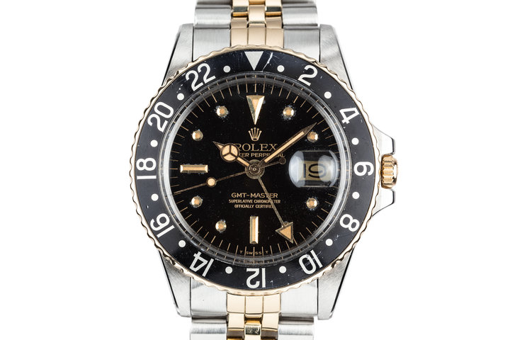 1978 Rolex Two Tone GMT-Master 1675 with Black Nipple Dial photo