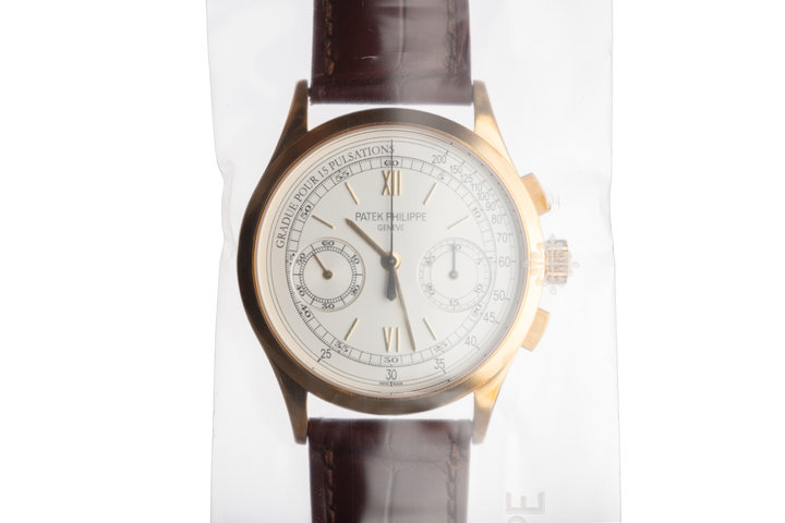 2011 Patek Philippe 5170J-001 18k YG Chronograph Manual Winding SEALED NIB photo