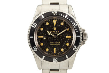 1965 Rolex Submariner 5513 with Bart Simpson Gilt Dial photo