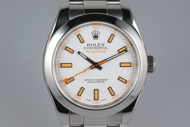 2007 Rolex Milgauss 116400V with Box and Papers photo