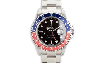 "2005 Rolex GMT-Master II 16710 ""Pepsi"" with ""Error"" Dial photo"