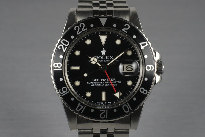 1979 Rolex GMT 16750 with Box and RSC Papers photo