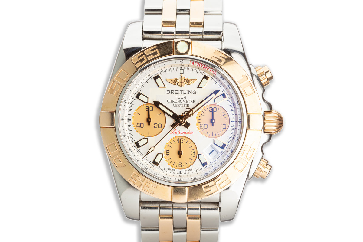 Breitling Chronomat CB014012/G713 with Case & Service Papers photo, #0