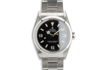 1997 Rolex Explorer 14270 Tritium Dial photo