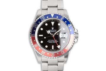 "2005 Rolex GMT-Master II 16710 ""Pepsi"" Bezel photo"