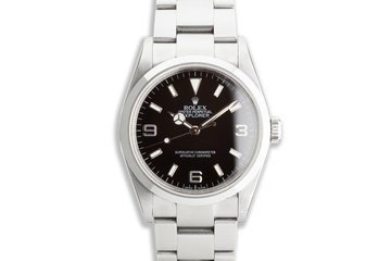 2004 Rolex Explorer 114270 with Papers photo