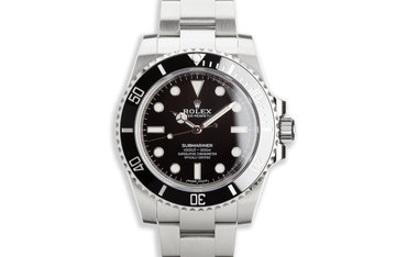 2019 Rolex Submariner 114060 with Box and Card photo