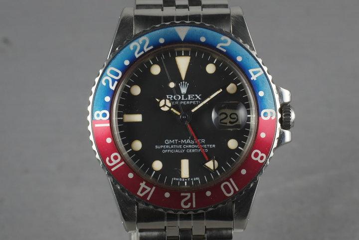 1978 Rolex GMT 1675 photo