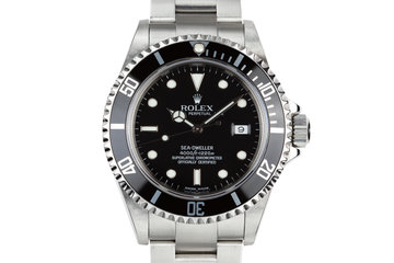 2005 Rolex Sea-Dweller 16600 with Box and Papers photo