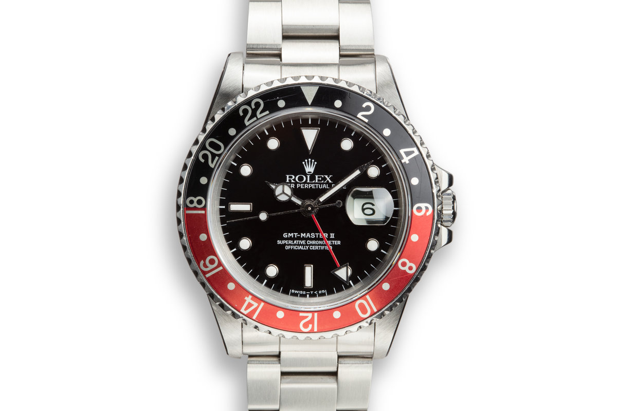 """1988 Rolex GMT-Master II 16710 """"Coke"""" with Box and Papers photo, #0"""